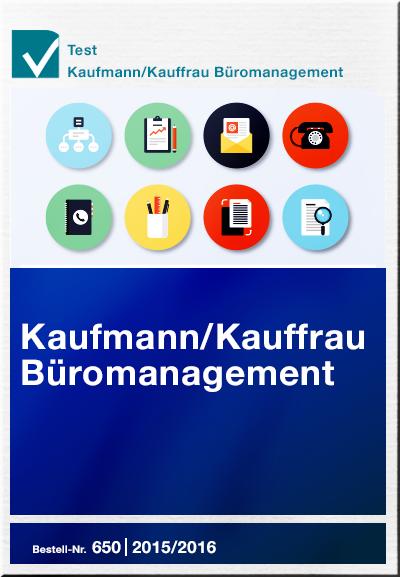 Kaufmann für Büromanagement