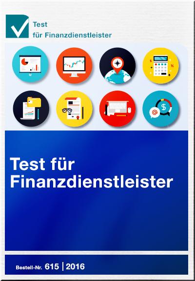 Cover Test für Finanzdienstleister