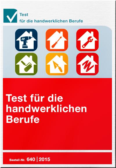 Cover Test für die handwerklichen Berufe