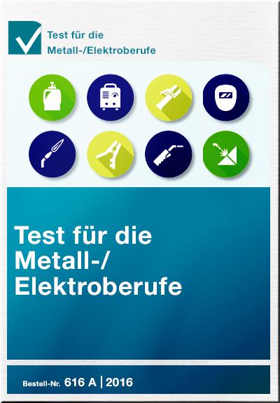 Cover Test für die Metall-/ Elektroberufe