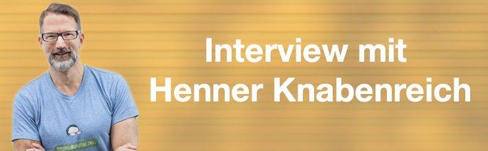 """""""Eigentlich sind es wir, die davon profitieren"""" – Interview Henner Knabenreich"""