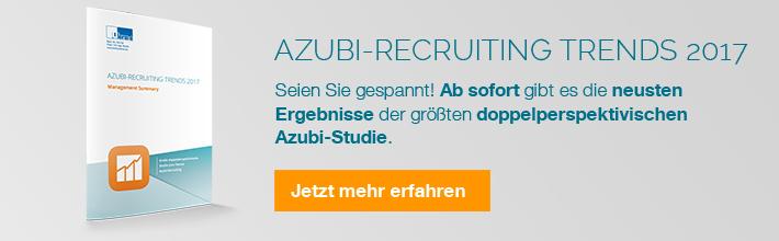 Ausbildung Azubi Recruiting Trends 2017 u-form