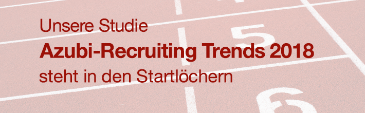 Azubi-Recruiting Trends 2018