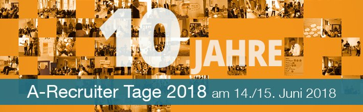 10 Jahre A-Recruiter Tage