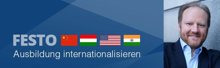 Interview mit Stefan Dietl, Leiter Ausbildung national/international bei Festo Didactic