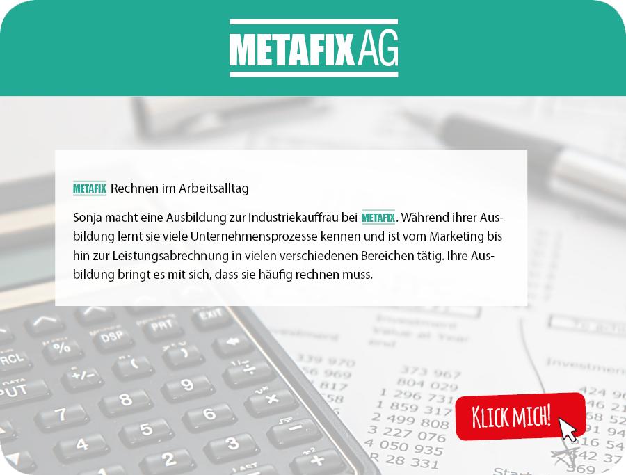 Zwischenseite_Metafix_Rechnen im Arbeitsalltag