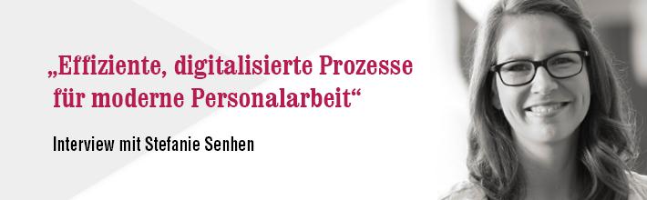 Interview mit Stefanie Senhen, Ottobock
