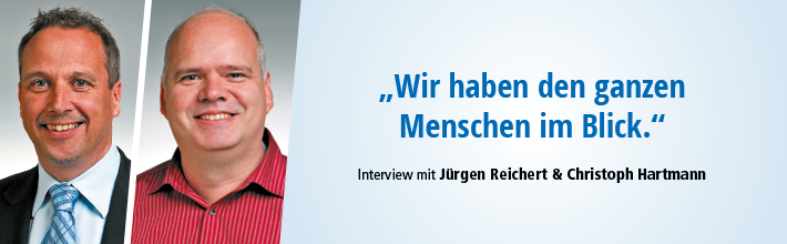 Banner Jürgen Reichert und Christoph Hartmann