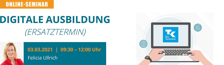 """u-form Online-Seminar: """"Digitale Ausbildung"""" (Ersatztermin)"""