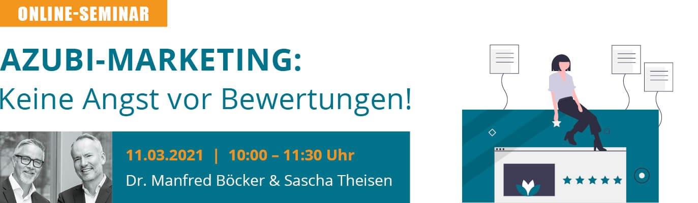 u-form Online-Seminar: Azubi-Marketing - Keine Angst vor Bewertungen!