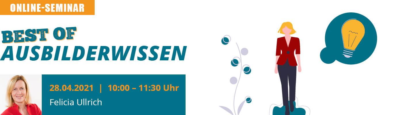 """u-form Online-Seminar: Best of """"Ausbilderwissen"""""""