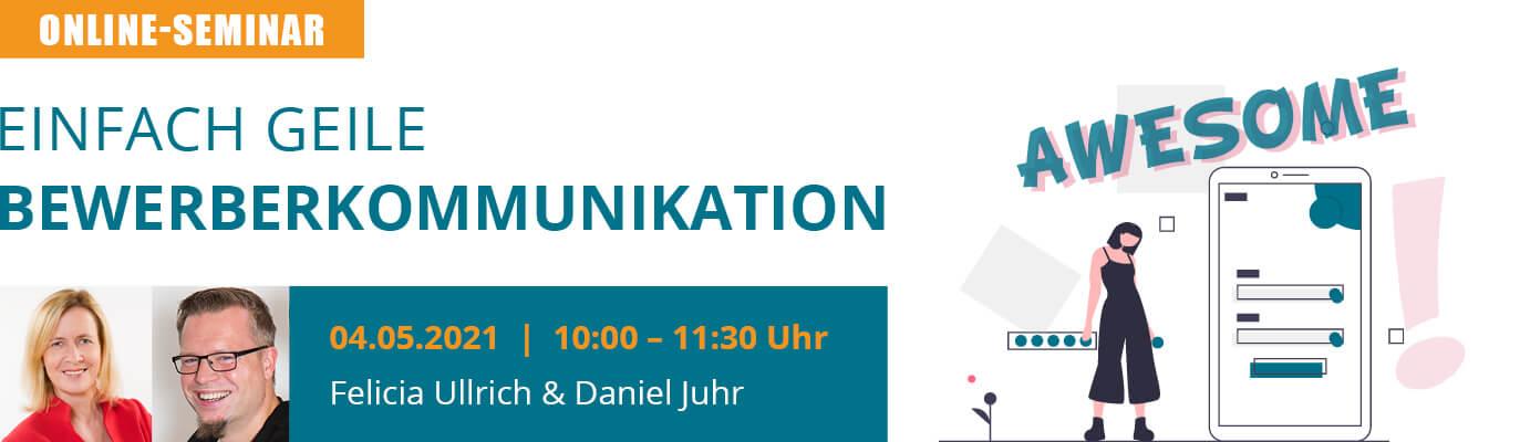 u-form Online-Seminar: Einfach geile Bewerberkommunikation