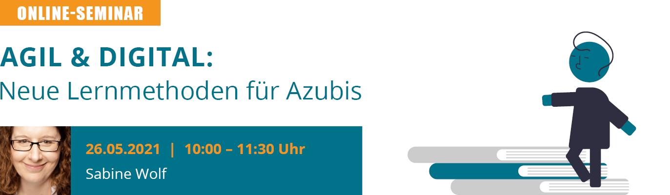 u-form Online-Seminar: Agil & digital - Neue Lernmethoden für Azubis