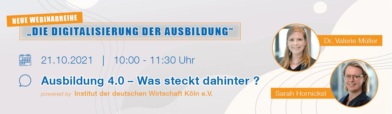 """u-form Webinar: """"Ausbildung 4.0 - Fachwissen & Ausbildungstipps"""""""